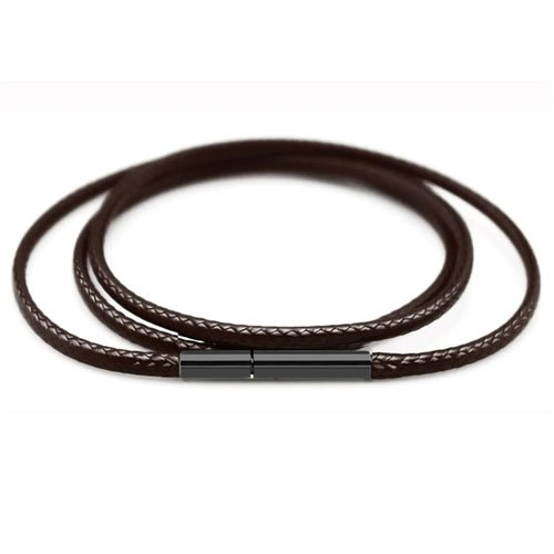 Eco Leather Cord for Pendant 3mm Magnetic Clasp - Different lengths