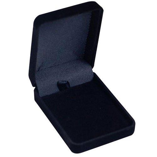 Luxury Pendant, Necklace or Bracelet Box, Velvet, 8x6x3cm