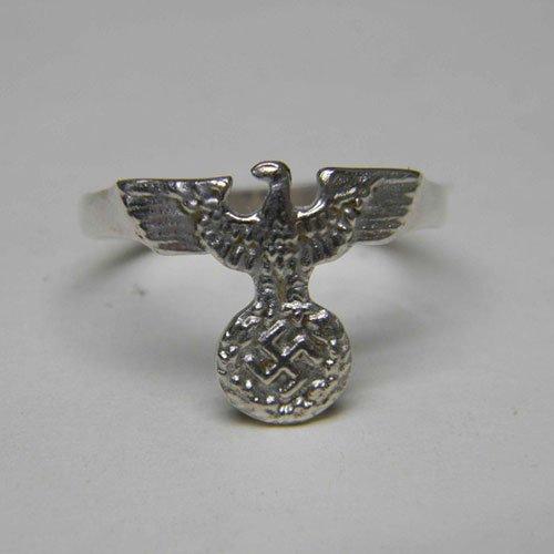 German Nazi NSDAP Ring with Swastika and Eagle