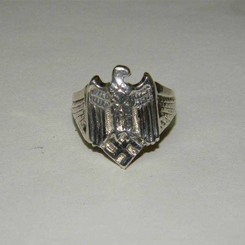 German Nazi Ring Eagle and Swastika NSDAP