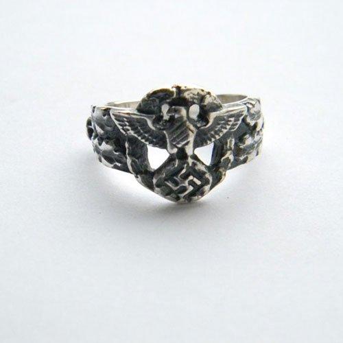 NSDAP German Ring Eagle and Swastika