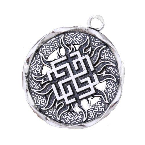 Pagan Pendant Viking Norse Swastika