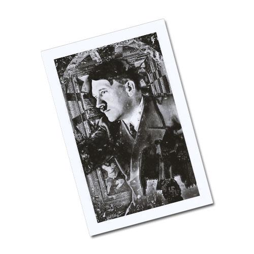Nazi Propaganda Artwork Greeting Card Postcard - Contemplating