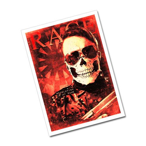 Nazi Propaganda Artwork Greeting Card Postcard - Revolution Is My Name