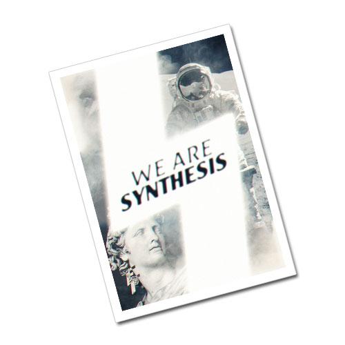 Nazi Propaganda Artwork Greeting Card Postcard - Synthesis