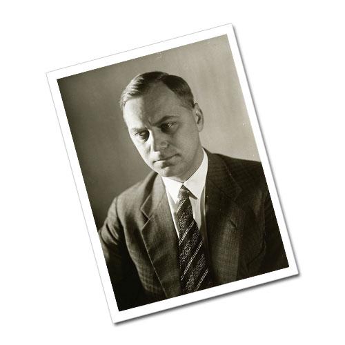 Portrait of Alfred Rosenberg Greeting Card Postcard