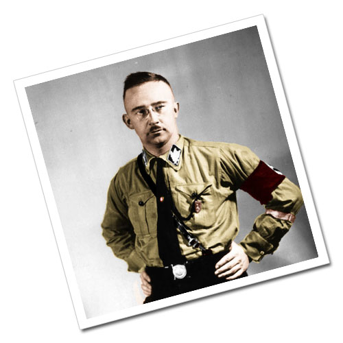 Heinrich Himmler Third Reich Greeting Card Postcard