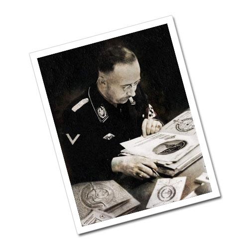 Greeting Card Postcard Heinrich Himmler - The Mysticism