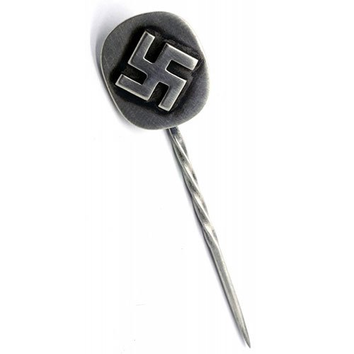 German Swastika Stickpin WW2