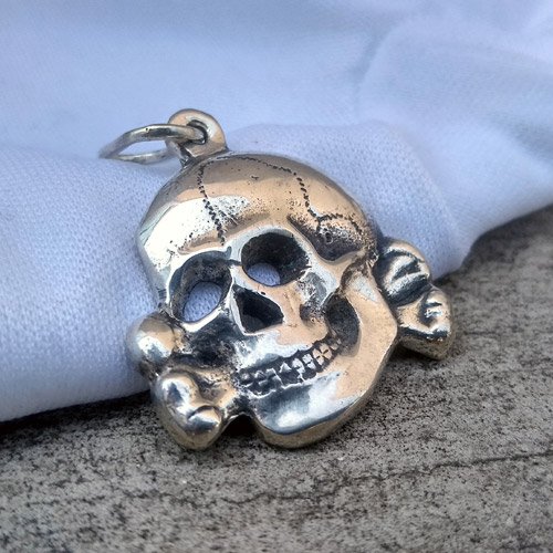 Totenkopf Pendant Death's Head German Skull