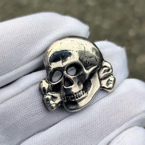 Totenkopf Pin German WW2 Death's Head Pin