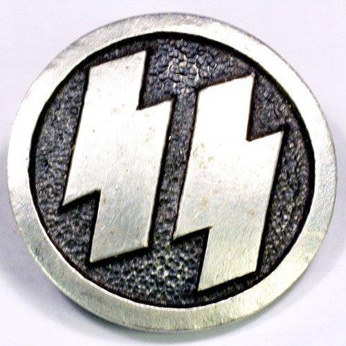 Waffen SS Badge Nazi SS Runes