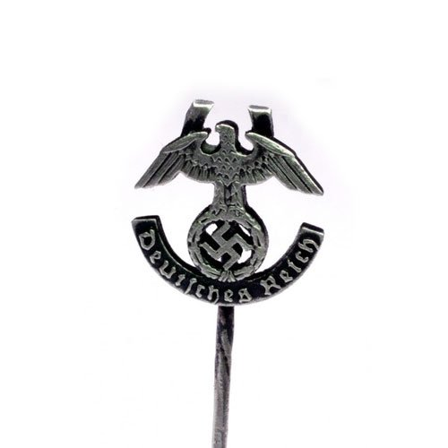WW2 German Stickpin Eagle and Swastika Deutsches Reich