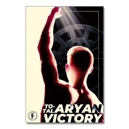 Nazi Propaganda Artwork Canvas Print - Aryan Victory