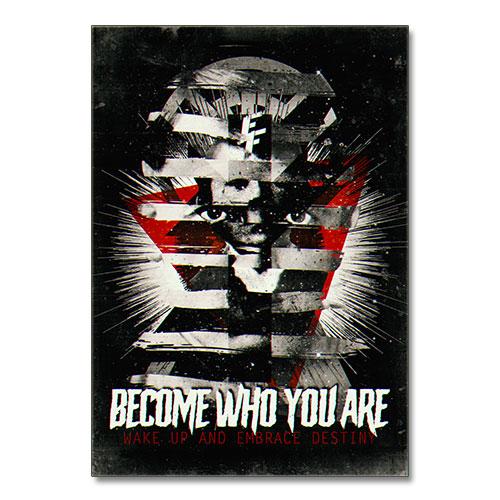 Nazi Propaganda Artwork Canvas Print - Become Who You Are
