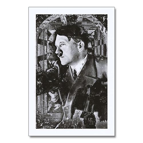 Nazi Propaganda Artwork Canvas Print Contemplating
