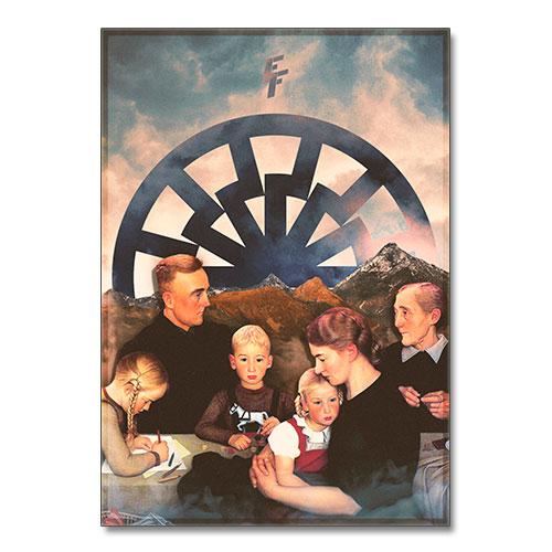 Nazi Propaganda Artwork Canvas Print - Folk and Fatherland