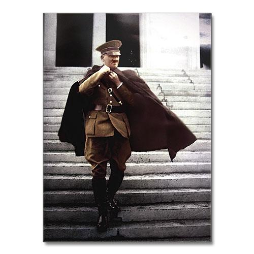 Nazi Propaganda Artwork Canvas Print - Adolf Hitler