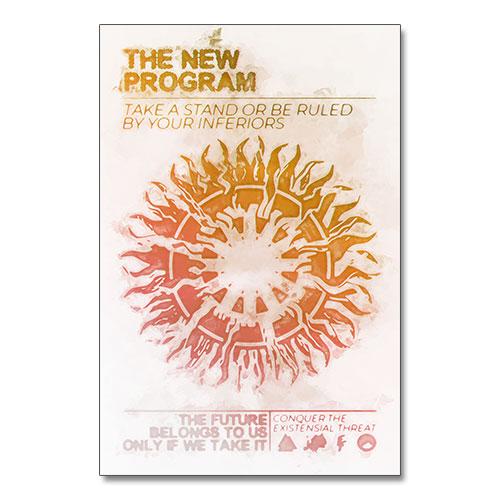 Nazi Propaganda Artwork Canvas Print - New Program