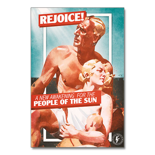 Nazi Propaganda Artwork Canvas Print - People Of The Sun