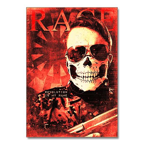 Nazi Propaganda Artwork Canvas Print - Revolution is my Name
