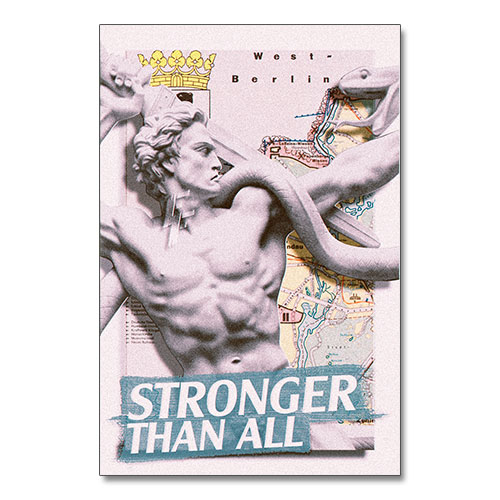 Nazi Propaganda Artwork Canvas Print - Stronger Than All