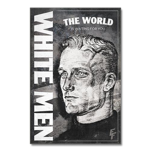 Nazi Propaganda Artwork Canvas Print - The World Is Waiting
