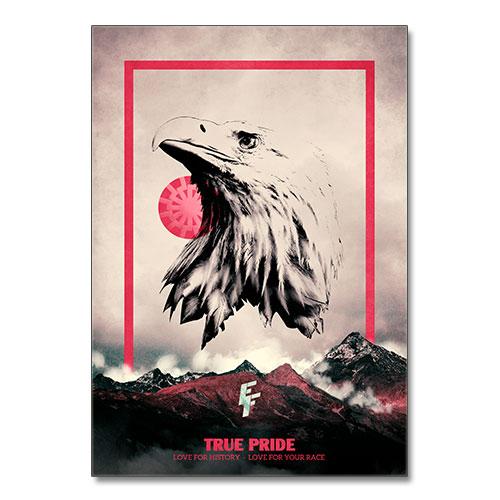 Nazi Propaganda Artwork Canvas Print - True Pride