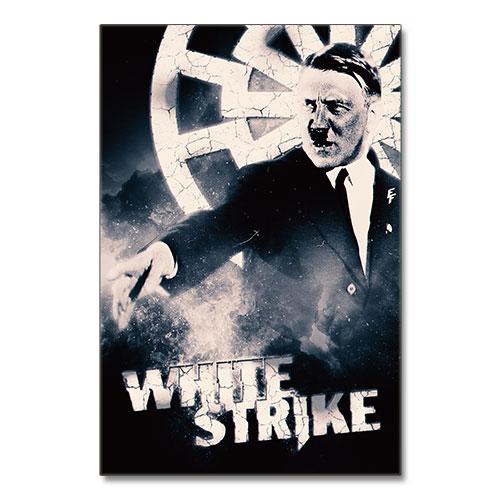 Nazi Propaganda Artwork Canvas Print - White Strike