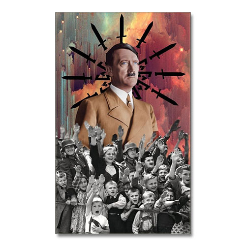 Canvas Print Adolf Hitler Third Reich Theme Canvas