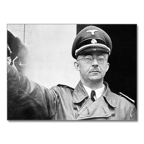 Canvas Print Heinrich Himmler Third Reich Canvas Black and White