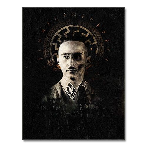 Canvas Print Henrich Himmler Black Sun