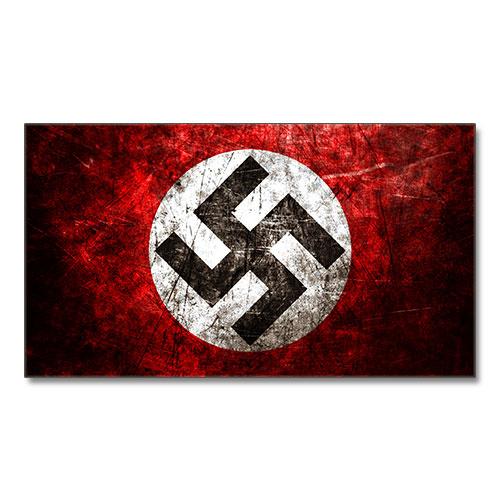 Canvas Print Nazi Swastika Third Reich Theme Stylized Canvas