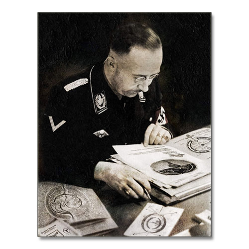 Canvas Print of Heinrich Himmler - The Mysticism