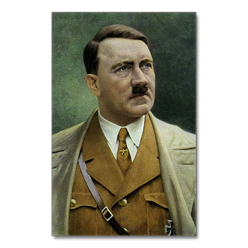 Canvas Print Painting Portrait Of Adolf Hitler