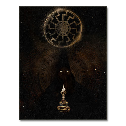 Canvas Print Third Reich Theme Canvas The Black Sun