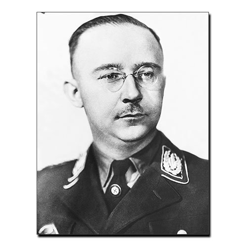 Canvas Print of Henrich Himmler 1945 Third Reich Canvas