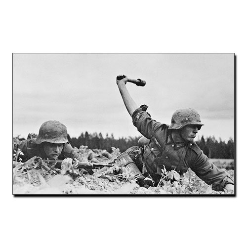 Third Reich Canvas Print Operation Barbarossa