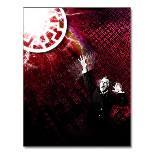 Third Reich Theme Canvas Print Adolf Hitler - The Annunciation