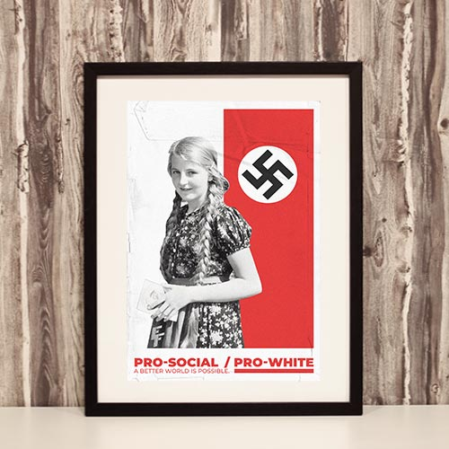 Nazi Propaganda Artwork Framed Poster - Better World