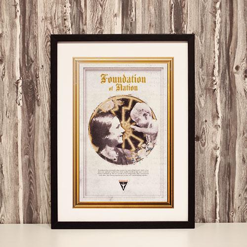 Nazi Propaganda Artwork Framed Poster - Frauenwerk