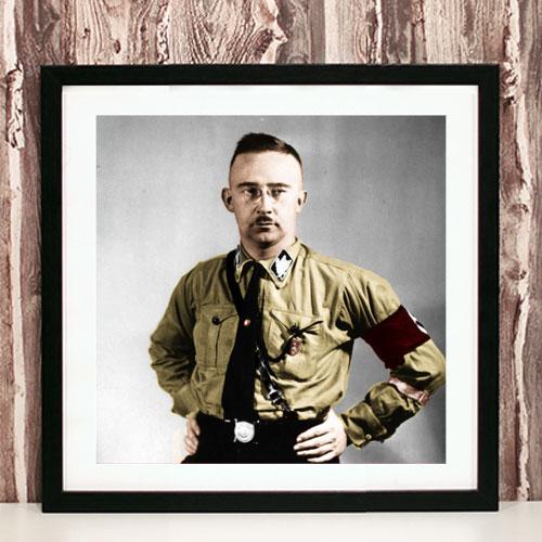 Framed Art Print Heinrich Himmler Third Reich Framed Poster