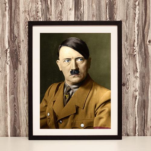 Framed Print Portrait of Adolf Hitler