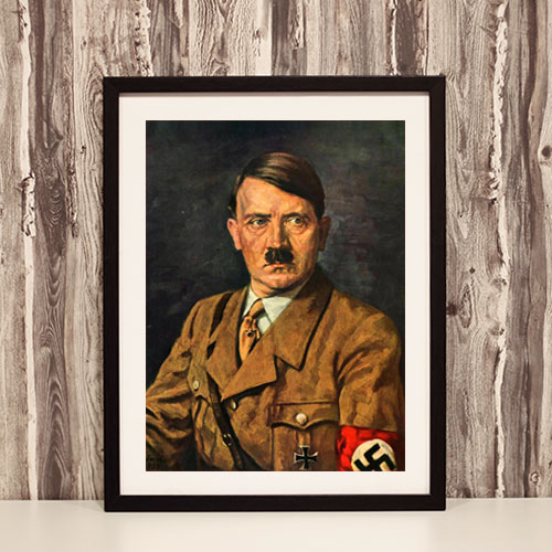 Framed Print Portrait of Adolf Hitler - ah05