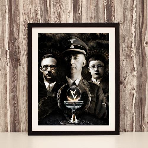 Heinrich Himmler Third Reich Theme Framed Art Print