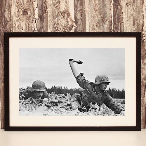 Third Reich Framed Art Print Operation Barbarossa