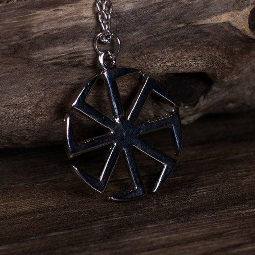 Kolovrat Pendant Sun Wheel Swastika Pendant