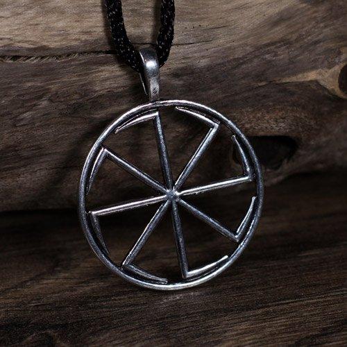 Kolovrat Sun Wheel Pendant
