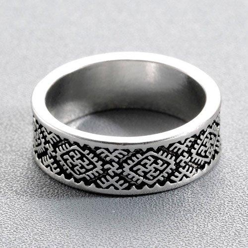 Swastika Ring Icelandic Ring Gapaldur