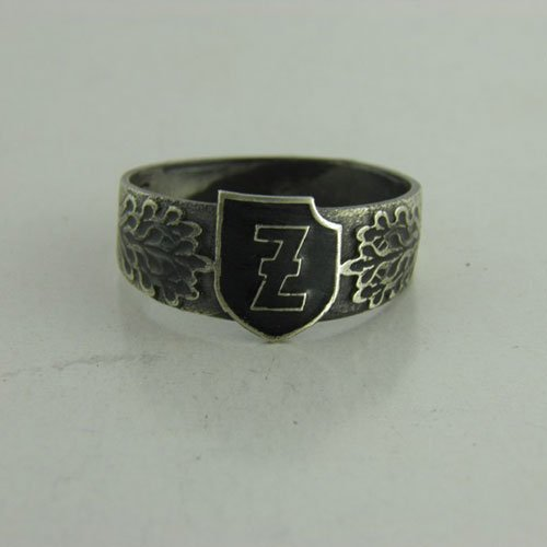 Waffen SS Ring 4th Polizei Panzergrenadier Division Third Reich Ring